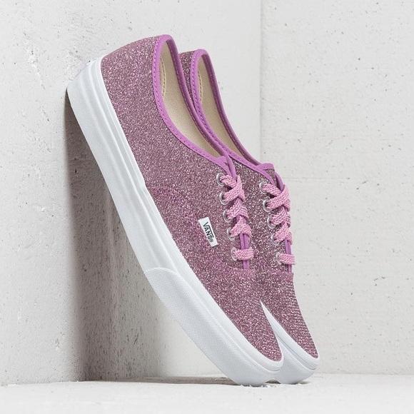 08f895e7ddf   nib   Vans Authentic Lurex Glitter Sneakers